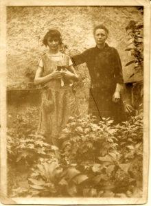 Marie Louise CORNU et sa fille