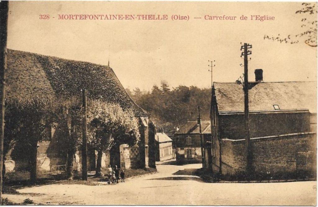 Maison de Marie Marguerite Valentine Chéron - Carrefour derrière l'Eglise