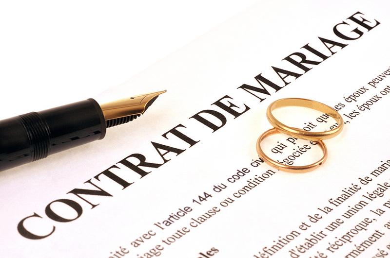 Challenge AZ : Lettre M comme contrat de Mariage