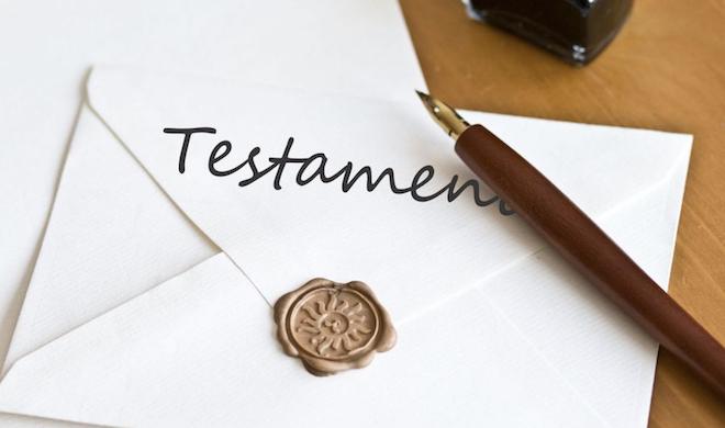 Challenge AZ : Lettre T comme Testament