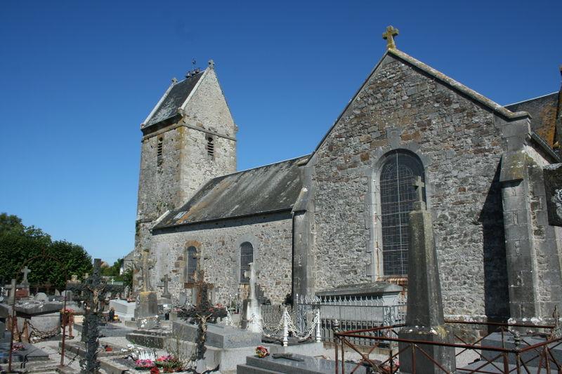 Eglise Saint-Etienne de Grimouville, Regnéville-sur-Mer